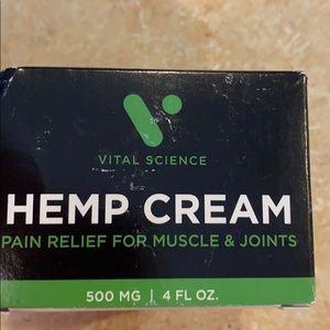 Vital Science Hemp cream